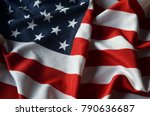 Small photo of American Flag background