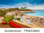 beautiful summer holiday on el...   Shutterstock . vector #790652863