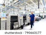 production and assembly of... | Shutterstock . vector #790663177