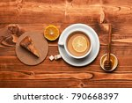 english tea time concept. cup... | Shutterstock . vector #790668397