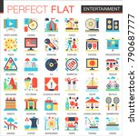 entertainment vector complex... | Shutterstock .eps vector #790687777
