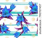 watercolor seamless pattern of... | Shutterstock . vector #790707457