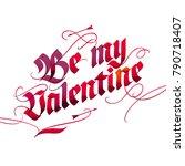 vintage style lettering for... | Shutterstock .eps vector #790718407