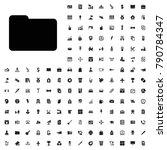 folder icon illustration...   Shutterstock .eps vector #790784347