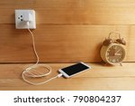 plug in adapter power cord... | Shutterstock . vector #790804237
