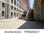 staircase in downtown of sao... | Shutterstock . vector #790828327