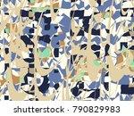 abstract vector background.... | Shutterstock .eps vector #790829983