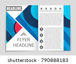 abstract vector layout... | Shutterstock .eps vector #790888183