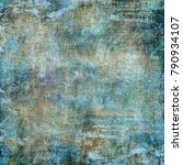 abstract old background with... | Shutterstock . vector #790934107