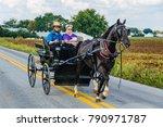 Amish Pennsylvania  Usa  ...