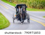Amish Pennsylvania  Usa  ...