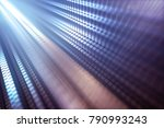3d illustration. abstract... | Shutterstock . vector #790993243