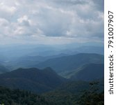 Small photo of Blue Ridge Mountains Overlook