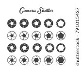 camera shutter icon  ...   Shutterstock .eps vector #791015437
