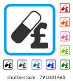medication pound business icon. ... | Shutterstock .eps vector #791031463