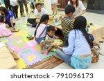 chiangmai thailand.august 12... | Shutterstock . vector #791096173