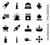 origami style icon set   rocket ... | Shutterstock .eps vector #791160433