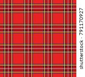 scottish cage  red celtic.... | Shutterstock .eps vector #791170927