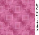pink metallic regular seamless...   Shutterstock . vector #791195827