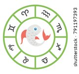 flat vector icon design of... | Shutterstock .eps vector #791197393