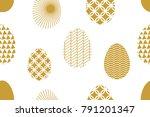 geometric festive background... | Shutterstock .eps vector #791201347