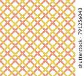 geometric abstract vector pink... | Shutterstock .eps vector #791256043