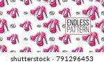 online shopping concept. vector ... | Shutterstock .eps vector #791296453