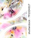 abstract modern background.... | Shutterstock . vector #791324317