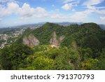 location krabi  attractions of... | Shutterstock . vector #791370793