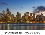 the city skyline of sydney ... | Shutterstock . vector #791394793