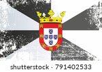 flag of ceuta  kingdom of spain.... | Shutterstock . vector #791402533