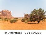 stone weather beaten cliffs in...   Shutterstock . vector #791414293