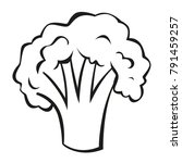 vector vegetables black and...   Shutterstock .eps vector #791459257