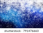 blue bokeh background paradise | Shutterstock . vector #791476663