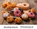 assorted donut and pastry | Shutterstock . vector #791541013