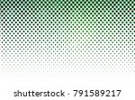 Dark Green Vector Pattern With...