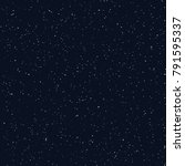 starry sky seamless pattern ...   Shutterstock .eps vector #791595337