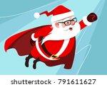 vector cartoon illustration of... | Shutterstock .eps vector #791611627