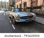 london 3 june 2017   oldtimer... | Shutterstock . vector #791620543