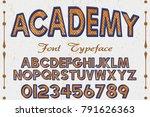 font.alphabet.script.typeface... | Shutterstock .eps vector #791626363