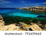 cape greco  cavo greco   ayia... | Shutterstock . vector #791659663
