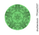 watercolor mandala. decor for... | Shutterstock . vector #791662537