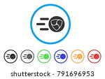 nem trace rounded icon. style... | Shutterstock .eps vector #791696953