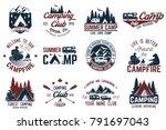 summer camp. concept for shirt... | Shutterstock . vector #791697043