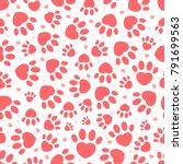 original trendy valentine's... | Shutterstock .eps vector #791699563