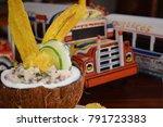 ceviche in panama | Shutterstock . vector #791723383