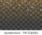 random falling shimmer dust... | Shutterstock .eps vector #791726503