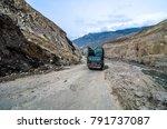 pakistan april 2016 a lorry... | Shutterstock . vector #791737087