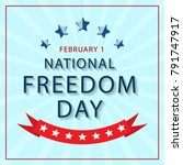 banner of the national day of... | Shutterstock .eps vector #791747917