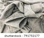 Texture Of Fabric. Linen Cloth...